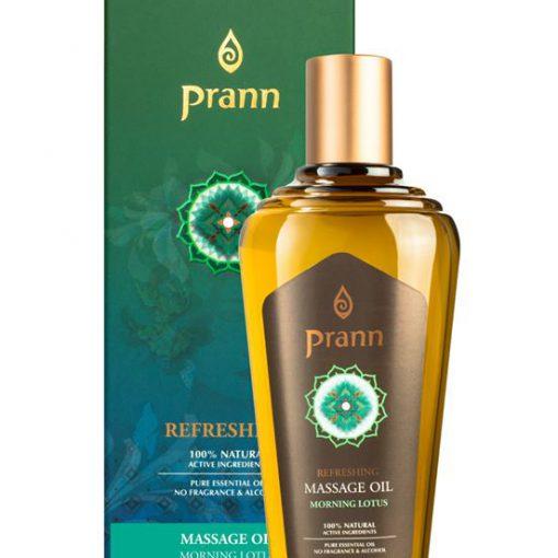 Prann Refreshing Massage Oil Morning Lotus